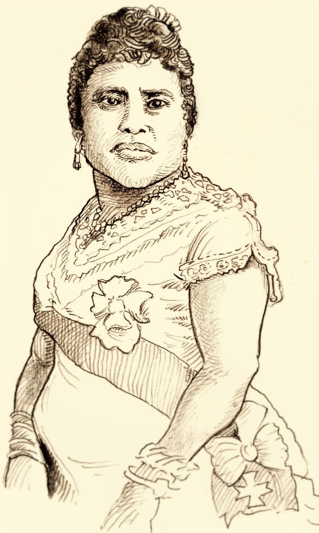 Those Amazing Humans, #284, Liliuokalani | Mongrel4u's Blog