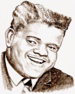 Resultado de imagem para Fats Domino caricature
