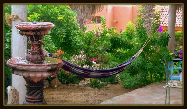Hammock Reading and Relaxation Station